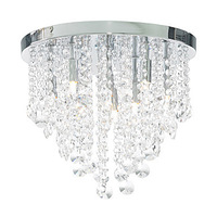 Free shipping Semi Flush Mount with 6 Lights