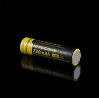 NITECORE NL147 High-Performance 750mAh Li-ion Rechargerable 14500 Battery For Hight Drain Devices