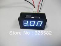 Mini Digital Ammeter DC 0-50A Digital Electrical Current Blue LED Panel Meter DC 12/24V Power Supply  WITH 50A SHUNT