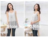 Special Selling New Style Women Dress Lace Nurse Clothing Maternity Dresses Pregnant skirt #5006