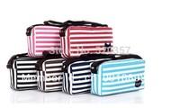 Leisure Stripe women tote bag Small canvas shoulder bag