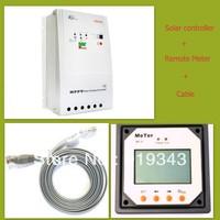 40A solar controller 12V/24V auto Trancer 4210RN with MT-5 Remote Meter MPPT function