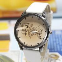 Fish bone watch female fashion personalized watches watch student table