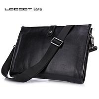 Man bag briefcase shoulder bag genuine leather male business casual messenger bag envelope bag