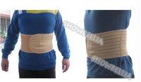 Men's Waist  Lose Weight Band Cincher Firm Shaper Slimming Girdle Belt Adjustable Beige Free Shipping
