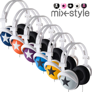 Headset mixstyle mix-style big earphones