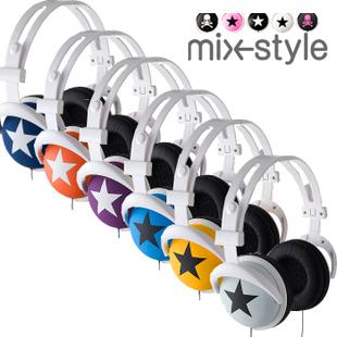 Headset mixstyle mix-style big earphones