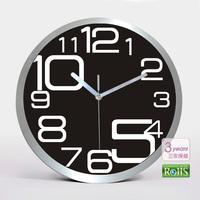 12 metal wall clock quartz clock mute wall clock fashion clock pocket watch