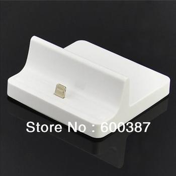 100pcs/lot+retail box Universal 8pin Charge Dock for iPad mini / iPad 4 free shipping