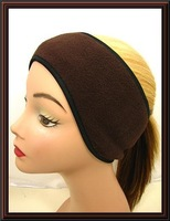 Headband unisex Polar Fleece Ear band Muff Warmer Wrap
