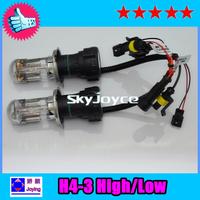 55w slim ballast h4 hi lo bixenon bulb h4 h13 9004 9007 4300K 5000k 6000k 8000k  55W Hid Bi xenon Conversion Kit UNID1037CX2013