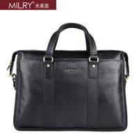Male bag top cowhide leather bag handbag genuine leather man bag briefcase p0053-1-2