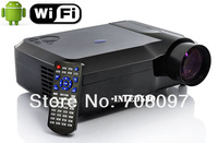 Hot !! WiFi Full HD Proyector Native1280*800 Video Home Theater Portable LED Projectors LED lamp with HDMI USB VGA