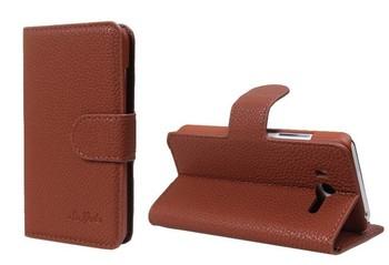 New arrival original case for xiaomi m2 leather case mtk6577 quad phone smartphone case