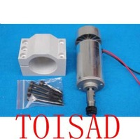 300W spindle motor+52mm spindle fixture/ 0.3KW spindle motor for engraving machine
