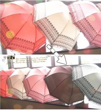 Lace decoration arch umbrella sun-shading umbrella apollo princess umbrella