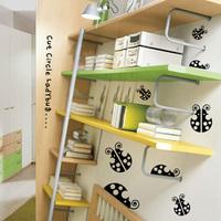 Itie small beetles kitchen cabinet bookshelf shelf furniture decoration wall stickers