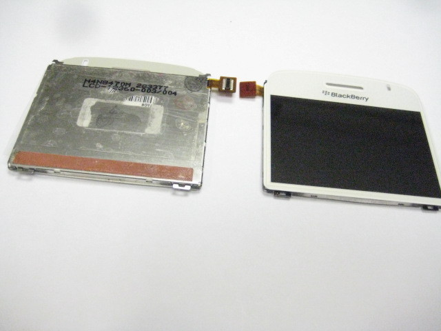 LCD Screen Display For Blackberry 9000 Bold 003/004 ~White(China (Mainland))