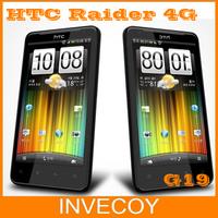 Original X710e unlocked HTC Raider 4G X710e G19 mobile phone  Android GPS WIFI4.5''Touch Screen 8MP Dual Core