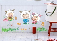 New arrival the third generation wall stickers real child cartoon decoration sticker