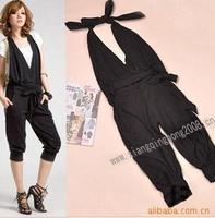Harem pants women hot-selling fashion female slim jumpsuit capris
