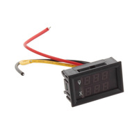 Free Shipping!DC 4.5-30V 0-100A Dual LED Digital Voltmeter Ammeter  Hot Selling