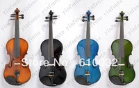 4/4 New 4 string Electric Acoustic Violin Solid Wood Nice Sound