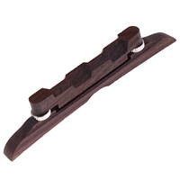 Wholesale 82pcs/lot Adjustable Compensated Rosewood Mandolin Bridge 114mm