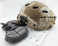 FAST Tactical Helmet PJ Type for Airsoft Paintball digital camouflage