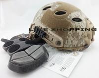 Paintball Helmet Base Jump  Helmet digital camouflage Multicam