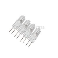 10Pcs Mini Warm White G4 12V 10W 20W Tungsten Halogen Lamp Light Bulb