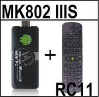 [Free Measy RC11 Air Mouse] MK802 IIIS Dual Core Rockmagic RK3066 Mini PC Cortex-A9 Android 4.1.1 w/ Bluetooth 1GB 8GB 3d Gaming