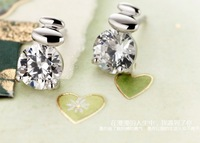 2013 Fashion 925 Silver Jewelry  Wholesale Newest 925 Sterling Silver Earrings Factory Price
