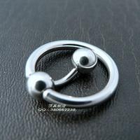 Medical titanium steel men pa 02 muotipurpose belly button rings