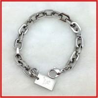 316l stainless steel charm bracelet