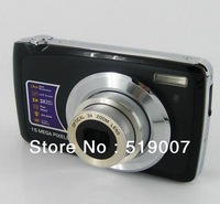 DHL/EMS free shipping,Nice 9MP sensor 3 x optical zoom digital camera with 2.7 inch screen, 4x digital zoom and  lithium battery