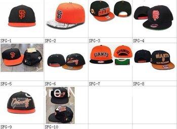 Wholesale San Francisco Giants snapback caps baseball hat Mixed order 10pcs/Lot Free shipping
