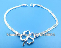 GY-PB377 Wholesale lots free ship Factory Price 925 silver Fashion Chain Bracelet, 925 Silver Bracelet ehka myra vqaa