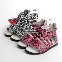 Child female child sandals summer 280 pigskin insole parent-child 22 - 36