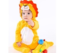Children set animal style romper jumpsuit infant lion