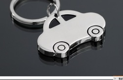 wholesale Mini car personality key ring keychain promotion gift(China (Mainland))