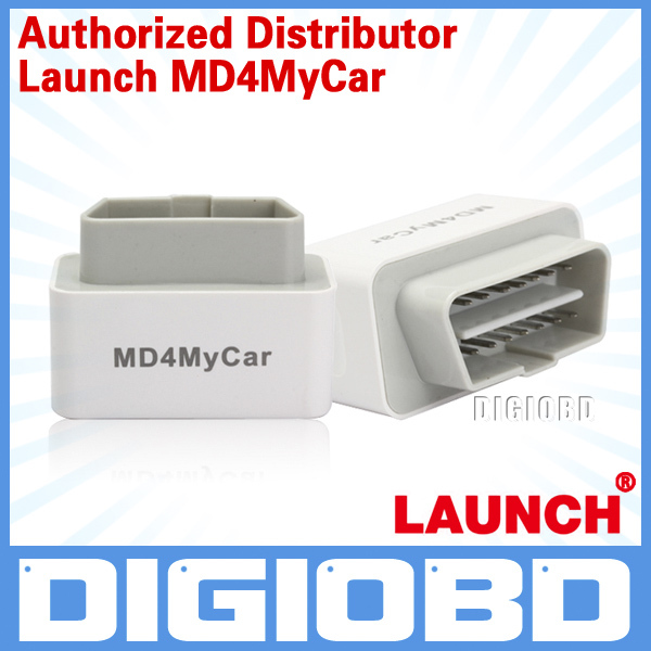 [Authorized Distributor]Hot Sales OBD2 Code Scanner Launch MD4MyCar Work on Iphone Free Shipping(China (Mainland))