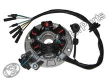 Magneto Stator 6 Pole Coil 6 Wire Lifan 1P55FMJ  140CC Xmotos Kaya Apollo 140CC Dirt Pit Bike Parts(China (Mainland))