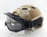 Ballistic Tactical Goggle black FOR Helmet