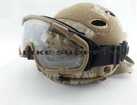 FMA SI-Ballistic-Goggle BK FOR Helmet TB423