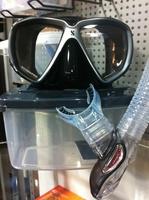 Scubapro spectra mask & phoenix 2 - full dry (full package)