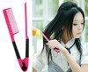 DIY Salon Folding Hair dress Hairdressing Styling Hair Straightener V Comb Tool(China (Mainland))