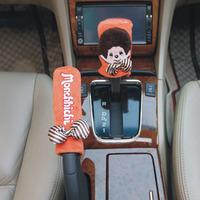 free shipping  jushi cartoon car handbrake cover gears sets general automatic manual
