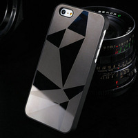 10 pcs/lot Mirror Aluminum case for iphone 5 5S Luxury New Arrival Hard back Cover for iphone 5g Bling Hybrid Aluminium Metal