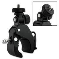 """Universal Motor Bike Handlebar Holder For Camera standard 1/4"""" tripod, Car DVR Mount ,"""